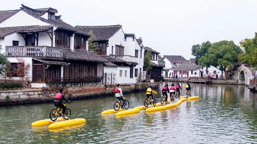 上海淀山湖度假村_皮划艇团建主题-上海闯越企业管理咨询有限公司